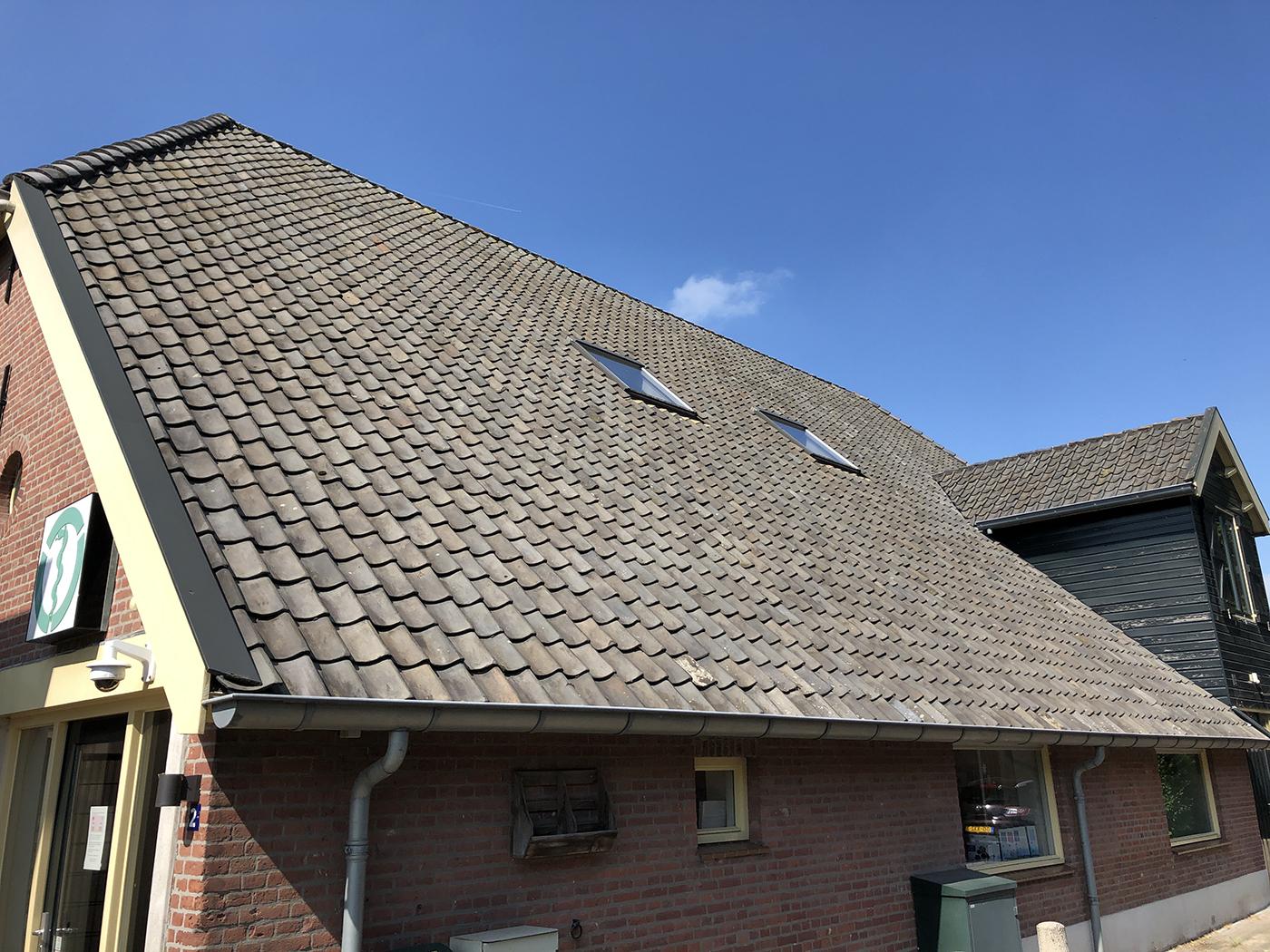 Dierenkliniek Tiel-Drumpt: het dak
