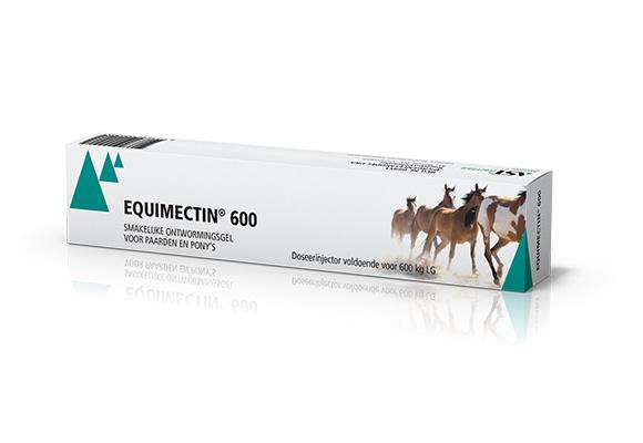 Dierenkliniek Tiel-Drumpt: Indien u medicatie van de dierenarts gekregen heeft, kunt u hier de bijsluiter vinden van: Equimectin 600