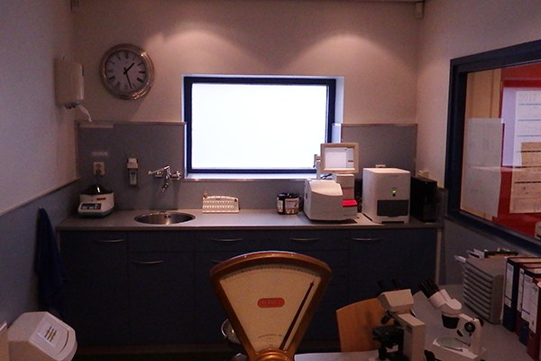 Dierenkliniek Tiel-Drumpt: Onze dierenartspraktijk heeft de beschikking over een goed uitgerust laboratorium. Natuurlijk doen we ook voortdurend kwaliteitscontroles om te zorgen dat de uitslagen kloppen.