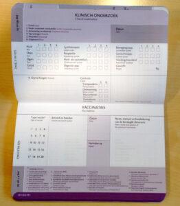 Dierenkliniek Tiel-Drumpt: Pagina voor de gezondheidscontrole door uw dierenarts en de jaarlijkse vaccinaties in het nieuwe dierenpaspoort.